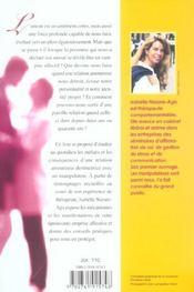 Les Manipulateurs Et L'Amour - 4ème de couverture - Format classique