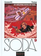 Soda t.9 ; et délivre-nous du mal - Intérieur - Format classique
