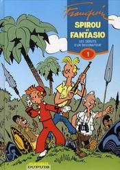 Spirou et Fantasio ; intégrale t.1 ; les débuts d'un dessinateur (1946-1950) - Intérieur - Format classique