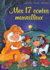Mes 17 contes merveilleux - Couverture - Format classique