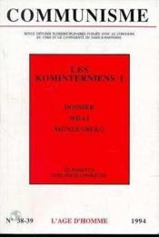 C38/39 Communisme - Couverture - Format classique
