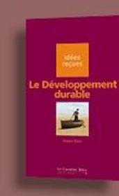Le développement durable - Intérieur - Format classique