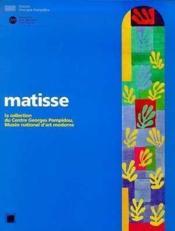 Matisse Dans Les Collections Du Mnam - Couverture - Format classique