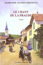 Le chant de la Praude - Intérieur - Format classique