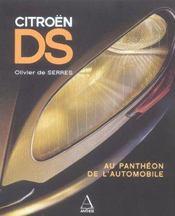 Citroen Ds - Intérieur - Format classique