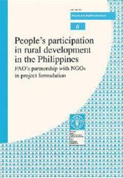 People's participation in rural development in the philippines ; fao's partnership with ngos in project formulation n.6 - Couverture - Format classique