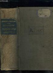 Dictionnaire Francais Latin. Nouvelle Edition. - Couverture - Format classique