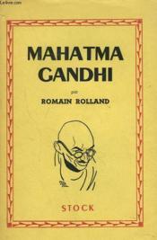 Mahatma Gandhi - Couverture - Format classique