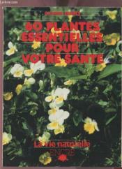 60 Plantes Essentielles - Couverture - Format classique