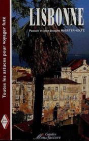 Guide de lisbonne - Couverture - Format classique
