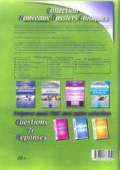 Hepato-Gastro Chirurgicale - 4ème de couverture - Format classique