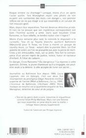 Petite Musique De Meurtre - 4ème de couverture - Format classique