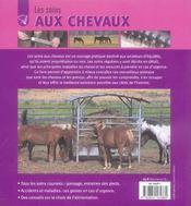 Soins Aux Chevaux (Les) - 4ème de couverture - Format classique
