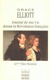 Journal De Ma Vie Durant La Revolution Francaise Preface D'Eric Rohmer - Intérieur - Format classique