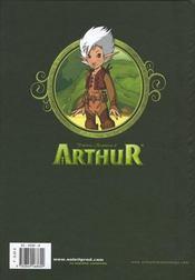 Les nouvelles aventures d'Arthur t.1 - 4ème de couverture - Format classique