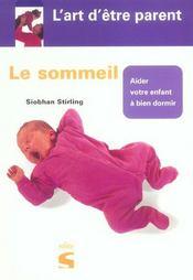 Le sommeil - Intérieur - Format classique