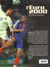 Eurofoot 2000 ; Le Livre Souvenir - 4ème de couverture - Format classique