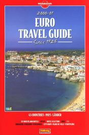 Euro Travel Guide 2000  - Collectif