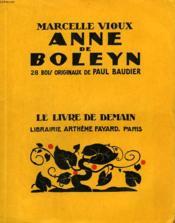 Anne De Boleyn. 28 Bois De Paul Baudier. Le Livre De Demain N°234. - Couverture - Format classique