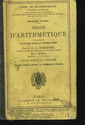 Traite D'Arithmetique, Plus De 1500 Exercices Et Problemes Gradues. - Couverture - Format classique