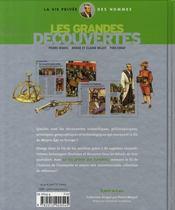 Les Grandes Decouvertes - 4ème de couverture - Format classique