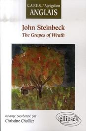 Vente livre :  The grapes of wrath  - Chollier - Christine Chollier