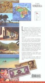 Le guide du venezuela - 4ème de couverture - Format classique