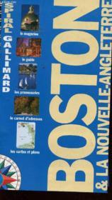Boston Et La Nouvelle Angleterre - Couverture - Format classique