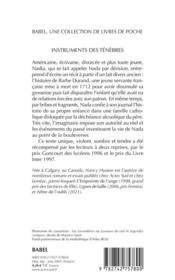 Instruments Des Tenebres (Ne) Babel 304 - 4ème de couverture - Format classique