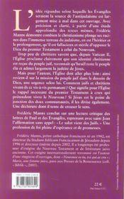 Les Racines Juives Du Christianisme - 4ème de couverture - Format classique