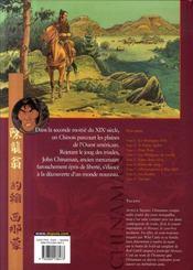 Chinaman t.9 ; tucano - 4ème de couverture - Format classique