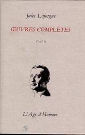 Oeuvres Completes Tome 2 - Couverture - Format classique