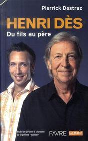 Henri Des. Du Fils Au Pere - Intérieur - Format classique