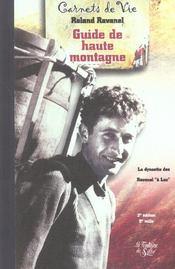 Guide De Haute Montagne T1 - Intérieur - Format classique