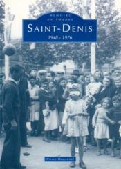 Saint-Denis 1948-1976 - Couverture - Format classique