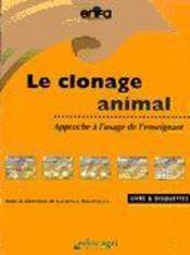 Clonage animal (le) - Intérieur - Format classique