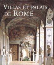 Villas et palais de Rome - Couverture - Format classique