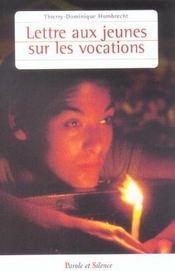 Lettre Aux Jeunes Sur La Vocation - Intérieur - Format classique