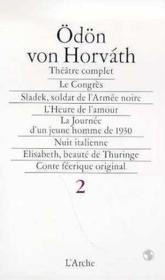 Oeuvres Choisies Theatre Complet. T.2 - Couverture - Format classique