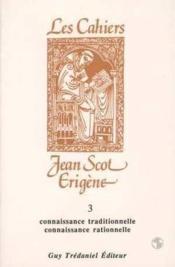 Cahiers Jean Scot Erigene 3 - Couverture - Format classique