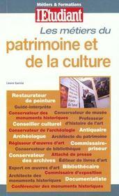 Metiers Du Patrimoine Et De La Culture - Intérieur - Format classique