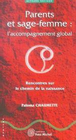Parents Et Sage-Femme : L'Accompagnement Global - Intérieur - Format classique
