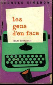 Les Gens D'En Face. - Couverture - Format classique