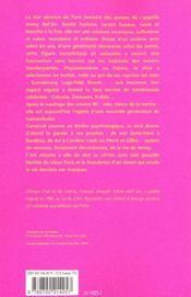 Jenny Bel'Air, Une Creature - 4ème de couverture - Format classique