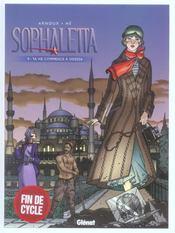 Sophaletta t.9 ; ta vie commence à Odessa - Intérieur - Format classique
