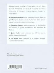 Seneque Lettres A Lucilius Lettres 1 A 9 - 4ème de couverture - Format classique