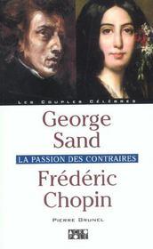 George Sand Frederic Chopin - Intérieur - Format classique