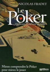 Le poker ; du texas hold'em au stud - Intérieur - Format classique