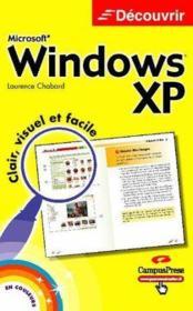 Windows Xp Decouvrir - Couverture - Format classique