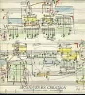 Musiques En Creation - Couverture - Format classique